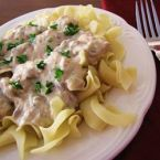 Chicken Crock-Pot Stroganoff