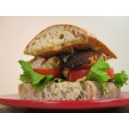 Grilled Sea Bass Sandwich w/ Sriracha Mayo