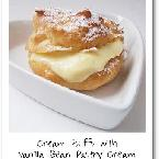 Cream Puffs with Vanilla Bean Pastry Cream