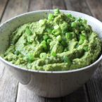 Spicy Green Hummus Recipe