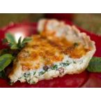 Spinach with Bacon Quiche
