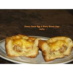 Cheesy Bacon Egg & Gravy Biscuit Cups