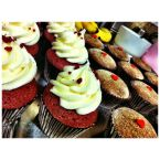 The Best Red Velvet Cupcakes with Vanilla Almond Cream Cheese Frosting