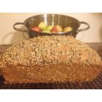 Sweet and Cinnamon Seasoned Hemp Seed Apple Loaf