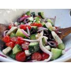 Killer Greek Salad and Dressing