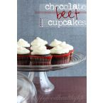 Chocolate Beet Cupcakes with Cream Cheese Frosting