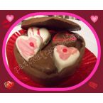 Valentne's day candy boxes