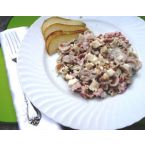 Nutty Bleu Cheese Pear Pasta Salad Recipe