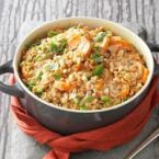 SAVORY RICE BAKE