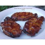 Sweet Honey & Garlic Pork Chops