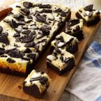 Cookies and Cream Cheesecake Brownies