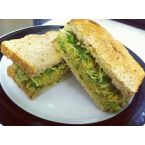 Garbanzo-Avo Bean Sandwich