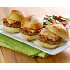 Pesto Pepper-Jack Sliders