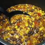 Roasted Corn and Black Bean Chili