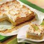 Tropical Meringue Dessert Squares