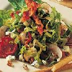 Romaine Salad with Crispy Bacon