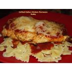 Grilled Italian Chicken Parmesan