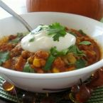 Pumpkin Turkey Chili