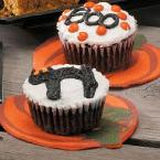 Spooky Chocolate Cupcakes