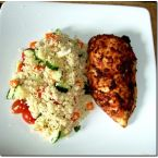 Paprika and Coriander Chicken with Chunky Couscous