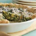 Spinach-Onion Quiche