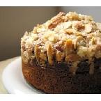 Image of Almond Rhubarb Coffee Cake, Bakespace