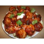 Mexican African Sweet and Spicy Meatballs