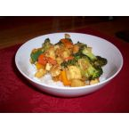 Ottawa's Green Door Restaurant's Broccoli-Tofu Stir Fry