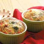 Bacon-broccoli Quiche Cups