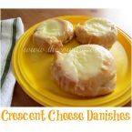 Crecent Cheese Danish