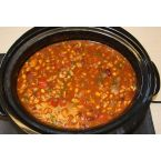Jordan's Crock-Pot Grilled Chicken Chili