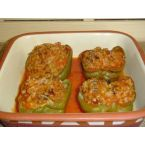 Stuffed Green Peppers – Aunt Sherry