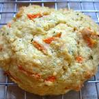 Carrot Herb Dinner Biscuits