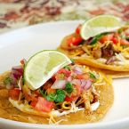Spicy BBQ Chicken Tostadas