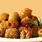 Walnut Coated Crisp Olives