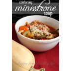 Comforting Minestrone Soup
