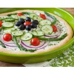 Garden Salad Pizza