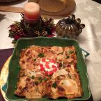 Hearty Turkey Pie- Enchilada Casserole
