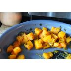 Glazed Butternut Squash with Parsley