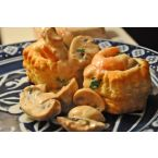 Brunch Time Tarragon Shrimp over Puff Pastry