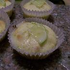 Key Lime and White Chocolate Nut Cupcakes