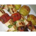 Turkey and Vegetable Skewers