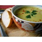 Peyala [avocado] soup