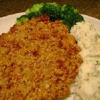 Maple Pecan Crusted Chicken