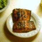 Soy-Glazed Salmon Steaks