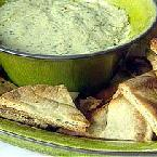 White Bean Dip with Pita Chips (Giada de Laurentiis)
