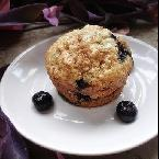 LOWFAT YUMMY Blueberry Oatmeal Muffins