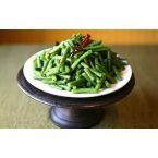 Masaledar Sem (Spicy Indian Green Beans)