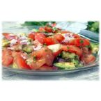 Simple Tomato and Avocado Salad