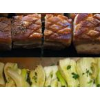 Pork Belly and Sweet Braised Fennel